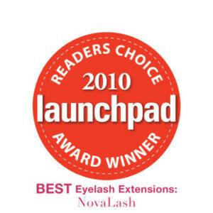 2010 launchpad award eyelash extensions