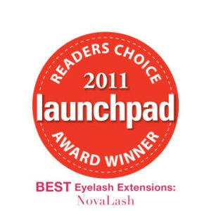 2011 launchpad award  eyelash extensions
