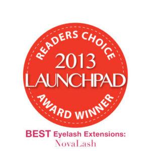 2013 launchpad award eyelash extensions