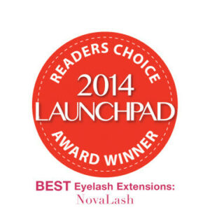 2014 launchpad award eyelash extensions