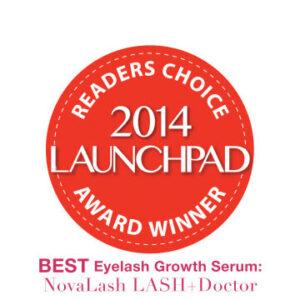 2014 launchpad award eyelash growth serum
