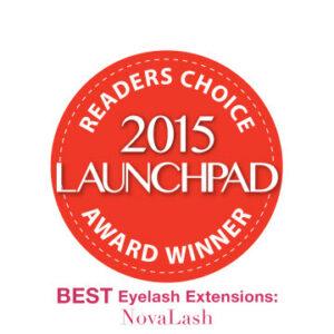 2015 launchpad award eyelash extensions