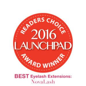 2016 launchpad award eyelash extensions