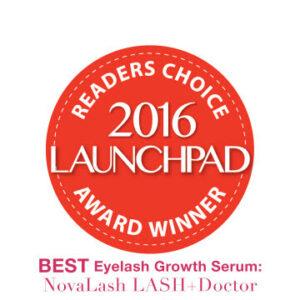 2016 launchpad award eyelash growth serum