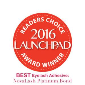 2016 launchpad award eyelash adhesive