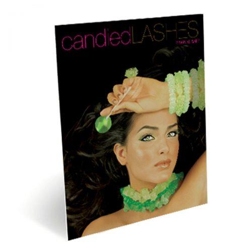 candied lash tabletop display