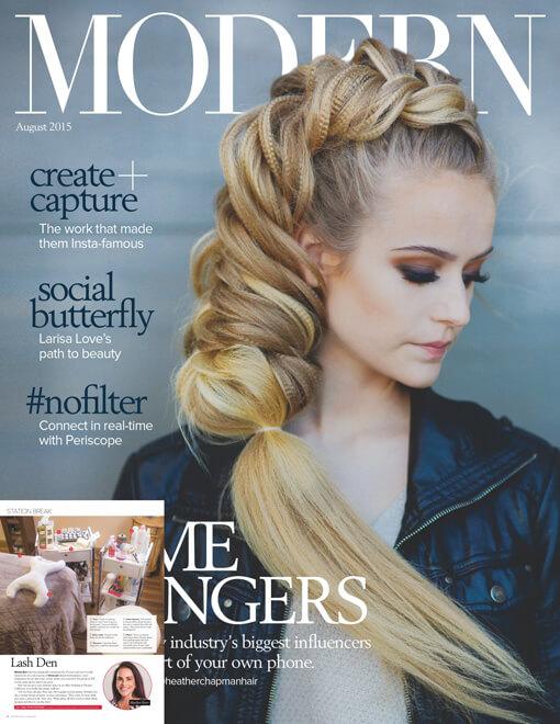 Modern Salon Magazine August 2015 Edition