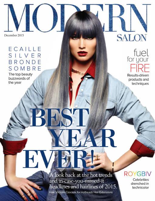 Modern Salon Magazine December 2015 Edition