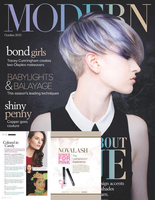 Modern Salon Magazine October 2015 Edition