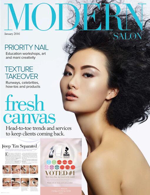 Modern Salon Magazine Januart 2016 Edition