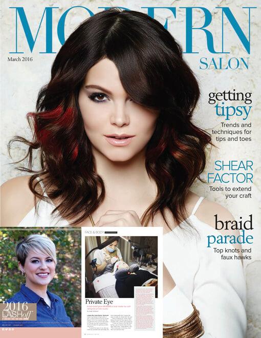 Modern Salon Magazine March  2016 Edition