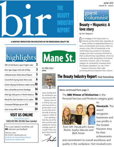 Beauty Industry Report May 2015 Edition