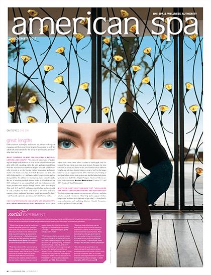 American Spa Magazine November 2017 Edition