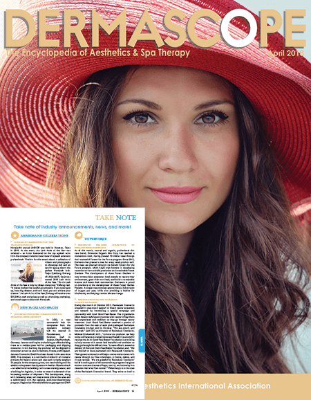 Dermascope Magazine April 2018 Edition