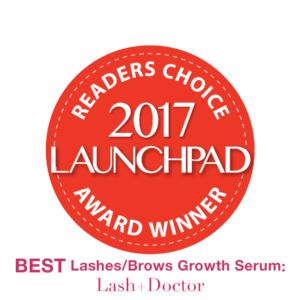 2017 launchpad award lash serum