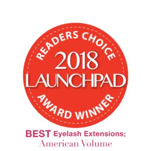 2018 launchpad award eyelash extensions