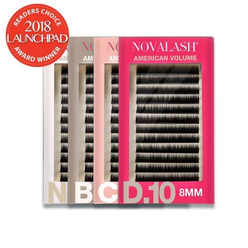 pack of american volume novalash