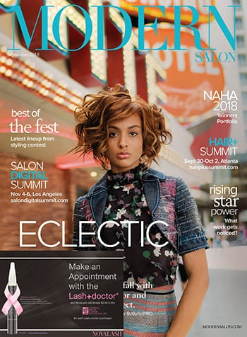 Modern Salon Magazine September 2018 Edition