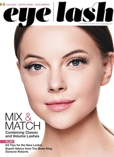 Eyelash Magazine September 2019 edition
