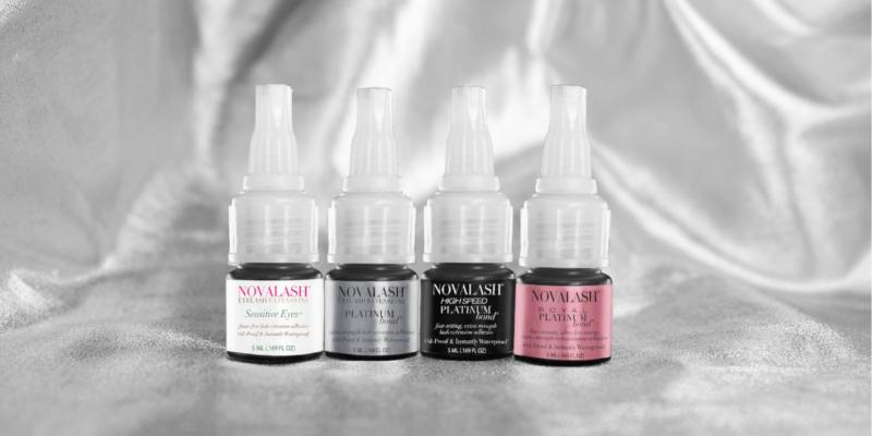different novalash glues