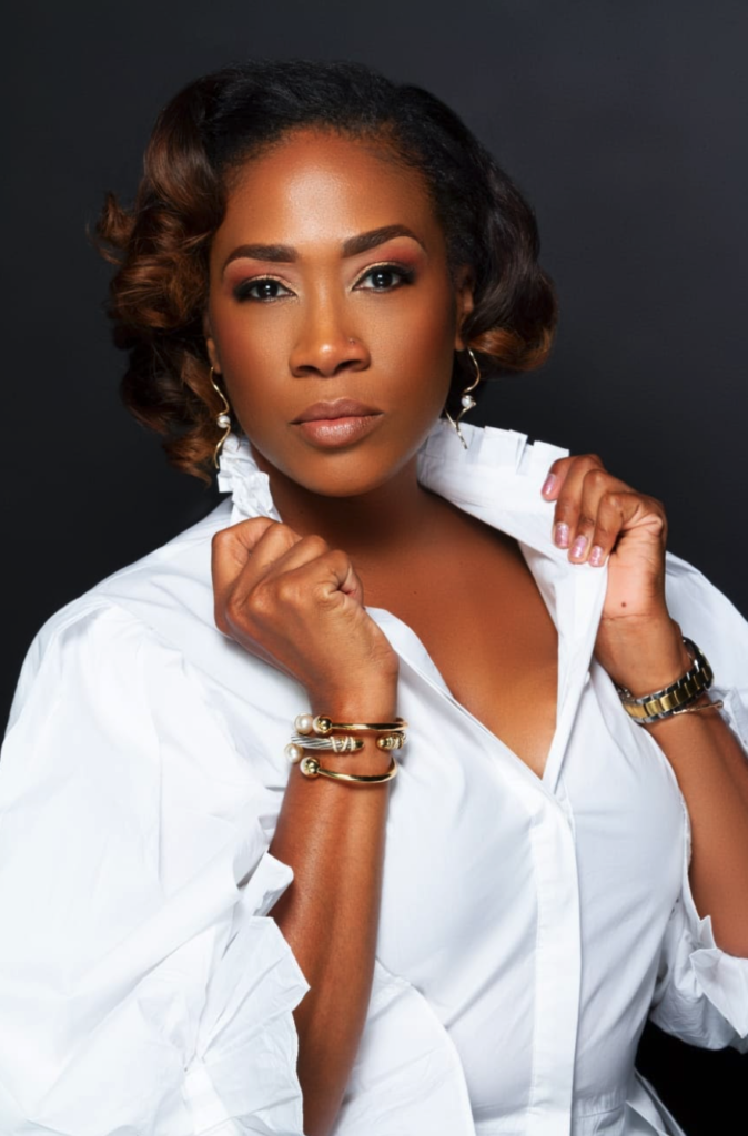Claire Dottin, Salon owner of Fabulash and lives in Bridgetown, Barbados